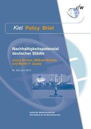Kiel Policy Brief 50