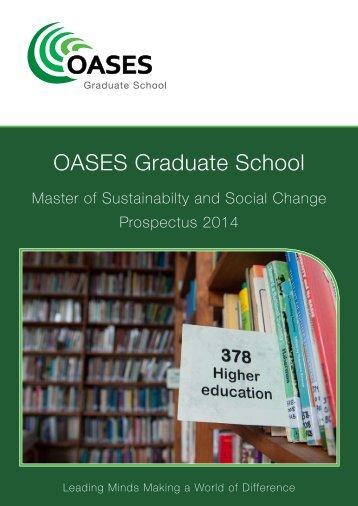 Prospectus 2014 - OASES