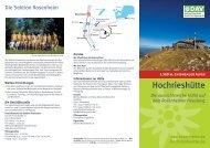 Hochrieshütte - Sektion Rosenheim