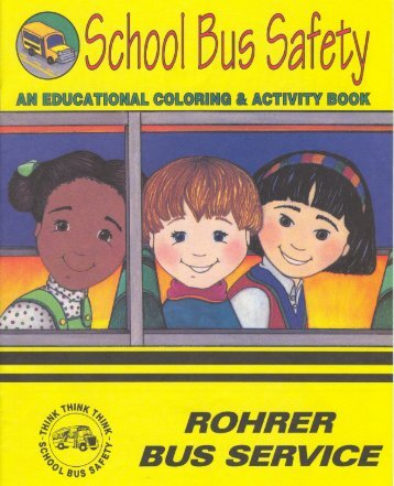 School Bus Safety Coloring Book (pdf)