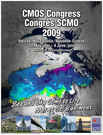 PART 1 - Canadian Meteorological and Oceanographic Society