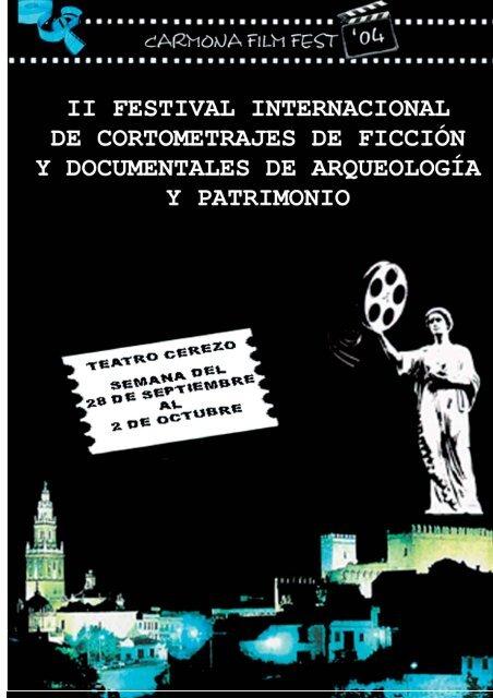 dossier carmona filmfest II - Ayuntamiento de Carmona