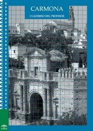 Cuaderno Pedagógico Profesor - Ayuntamiento de Carmona