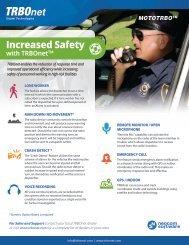 TRBOnet Personal Safety leaflet