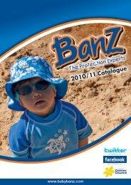 2010/11 Catalogue - Baby Banz