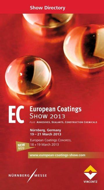 Show Directory - European-coatings.com