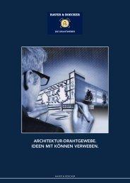 architektur-drahtgewebe. ideen mit können ... - Haver & Boecker