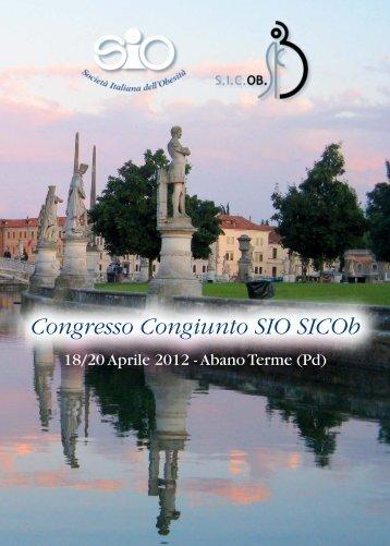 Congresso Congiunto SIO SICOb