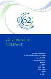 GOVERNANCE COMPACT