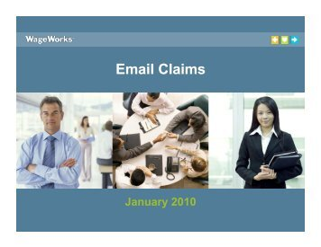 Email Claims