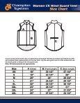 Size Chart - Page 2