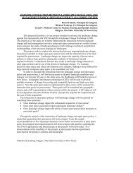 This proposal - Grant F. Walton Center for Remote Sensing and ...
