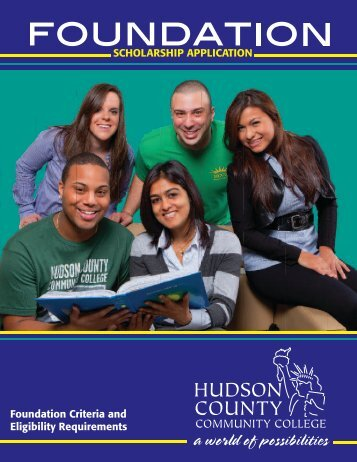 ABOUT HUDSON COUNTY COMMUNITY COLLEGE FOUNDATION