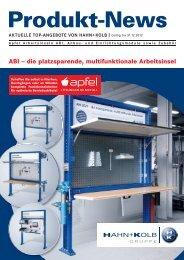 Apfel Betriebseinrichtungen ABI Arbeitsinseln - Hahn +Kolb ...