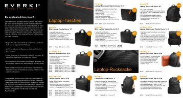 Laptop-Taschen Laptop-Rucksäcke
