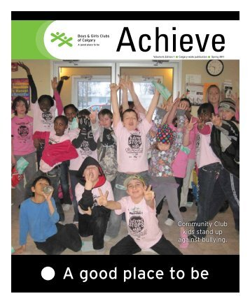 Canada Safeway Foundation Ensures Children Feel Safe Supported and Nurtured!