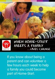 If you know about being a parent and can volunteer a few hours ...