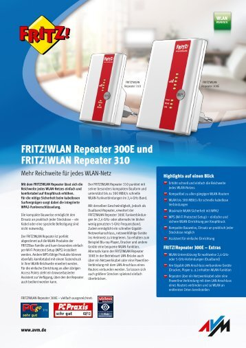 WLAN-Repeater AVM FRITZ!