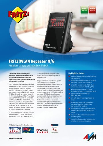 WLAN Repeater N/G - AVM