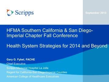 Presentation Title - HFMA Southern California and San Diego ...