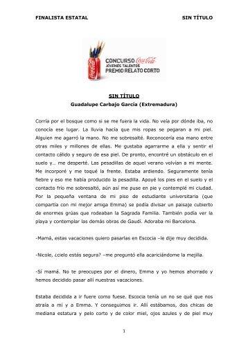 FINALISTA ESTATAL SIN TÍTULO 1 SIN TÍTULO ... - Coca-Cola