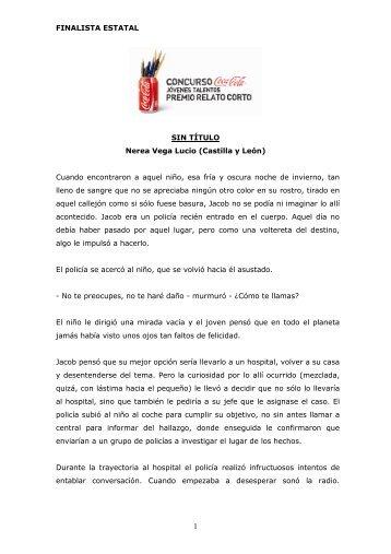 FINALISTA ESTATAL SIN TÍTULO Nerea Vega Lucio ... - Coca-Cola