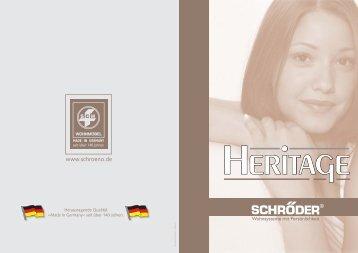 Herausragende Qualität »Made in Germany« seit über 140 Jahren.