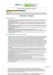 030-018 S1 Schwindel - Therapie 10-2008 10-2013 - AWMF