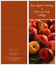 bon appétit catering lewis clark college