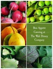 bon appétit at the walt disney company