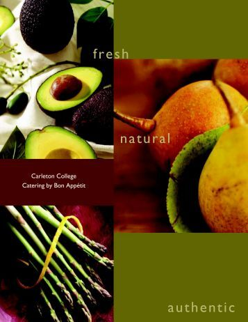 fresh natural authentic