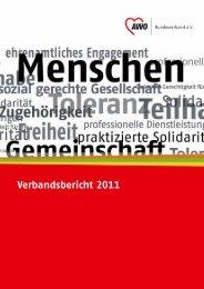 Verbandsbericht 2011 - Awo