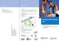 Bundeskoordinatorentag 2011 - Bundesanstalt für Arbeitsschutz und ...