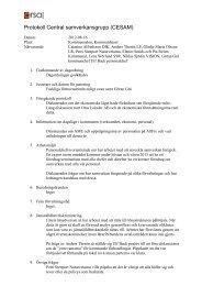 Protokoll CESAM 120816