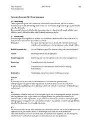 Attestreglemente för Orsa kommun
