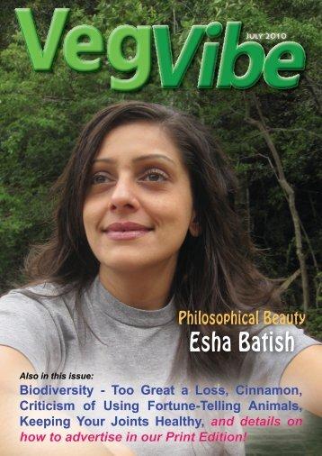 Esha Batish - VegVibe