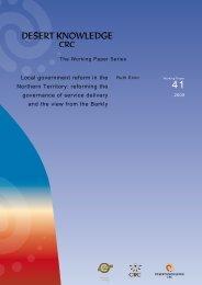 Regionalism/Local governments - Ninti One