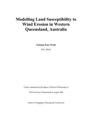 Wind Erosion in Western Queensland Australia