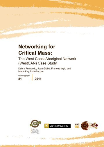 Networking for Critical Mass