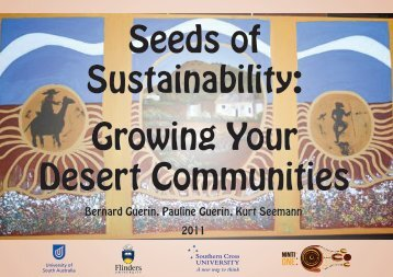 Seeds of Sustainability Growing Your Desert Communities