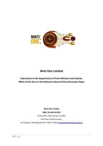 Ninti One Limited