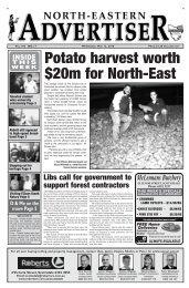 Potato harvest worth $20m for North-East
