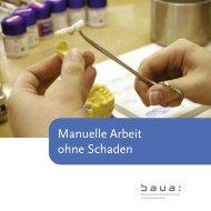 Manuelle Arbeit ohne Schaden - Bundesanstalt für Arbeitsschutz ...