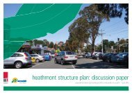 heathmont structure plan discussion paper