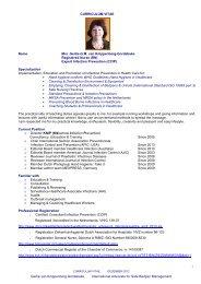 2012 August CV Gertie van Knippenberg-Gordebeke - CommPartners