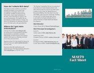 NLSY79 Fact Sheet