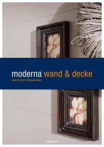 moderna® wand & decke - Bhk