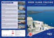 GREEK ISLAND CRUISING