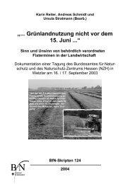Grünlandnutzung nicht vor dem 15. Juni - Bundesamt für Naturschutz
