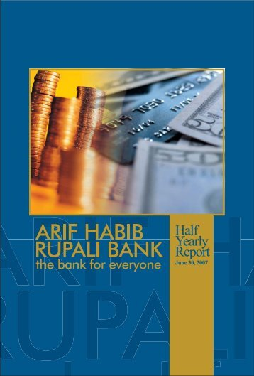 Half Yearly Report 2007 - Summit Bank